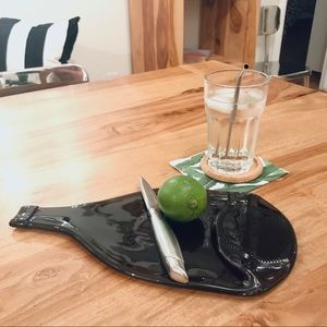 Other - Melted Wine Bottle Serving Board